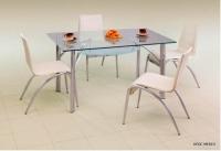 Трапезарна маса със стъкло  DYLAN