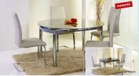 Трапезарна маса със стъкло разтегателна NESTOR