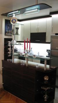 Кухня с принтвана картина