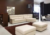 Дизайнерска мека мебел бяла