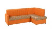 Оранжев ъглов диван 26793-3016