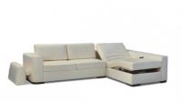 Бял диван ъглов