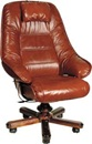 Луксозен офис стол от естествена кожа
