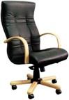 Луксозни офис столове от естествена кожа