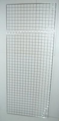 Решетка за стена бяла
