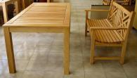 Градинска маса с пейка