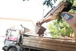 Земно-изкопни работи с багер