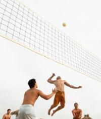 Волейболна мрежа за плаж