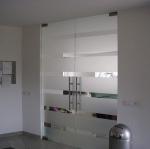 врата стъклена по поръчка 1313-3577