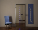 стъклена врата по поръчка 1319-3577