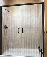 стъклена врата по поръчка 1413-3577