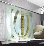 стъклена плъзгаща врата по поръчка