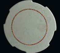 Плот за маса кръгъл от мрамор
