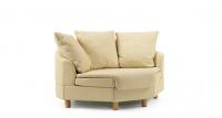 Ъглов диван от естествена кожа - stressless