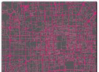 Верзалитов плот за маса сиво с розово