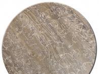 Плот за маса верзалитов кръгъл сив