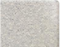 Верзалитов плот за маса бял