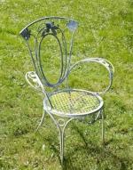 Столове от ковано желязо за външна употреба