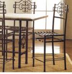 Столове за дома от ковано желязо