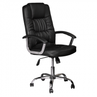 Менажерски стол с метална база до 130кг.