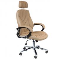 Стол за директор в бежов цвят