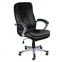 Изключетелно удобен директорски стол черен