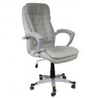Изключетелно удобен директорски стол сив