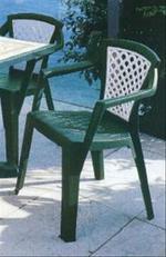 Външни пластмасови столове