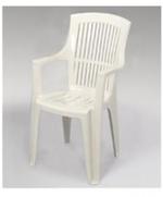 Универсална стифиращ стол от пластмаса за външно използване
