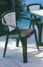 Устойчиви столове от пластмаса италиански