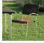 Здрав метален стол за бар