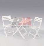 Пластмасови сгъваеми столове за градината