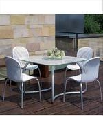 Столове от метал за бер на басейн