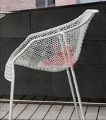 метален стол за външно и вътрешно ползване