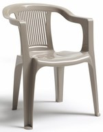 Външни пластмасови дизайнерски бар столове
