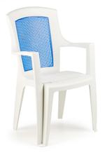 Пластмасови дизайнерски бар столове с разнообразни размери плот