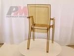 Пластмасов дизайнерски стол за заведение