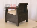 Градински стол произведен за заведения