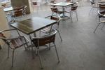 Стилна база за маса за ресторант