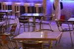 Уникална стойка за бар маса за кафене