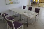 Метални прахово боядисани стойки за маса