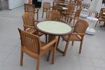 Универсален стол от пластмаса за кафене, за външно използване