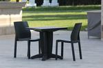 Градински зелени столове, от пластмаса