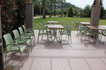Градински пластмасови столове за ресторант