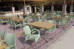Градински столове стифиращи, пластмаса