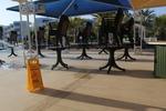 Външни пластмасови столове за ресторант