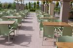 Пластмасови здрави столове, за заведения