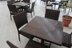 Стойки за маси за ресторанти, за външно ползване