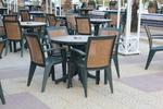 Пластмасови столове на промоция, с разнообразни размери