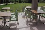 Външни пластмасови столове на промоция